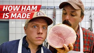 How Ham Is Made from a Whole Pig — Prime Time by Eater