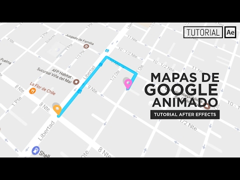 Mapas Animado (Google Maps) - Tutorial After Effects [Español]