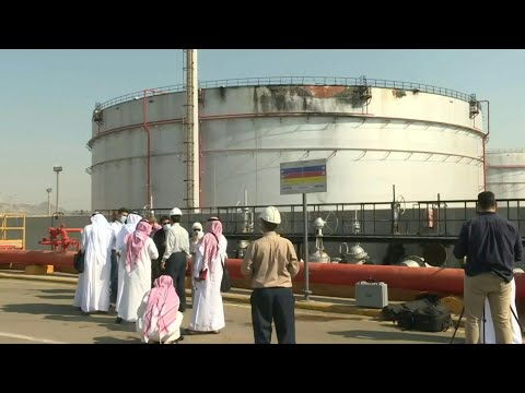 Damages on Saudi Aramco site after Yemen's Huthis launch missile attack | AFP
