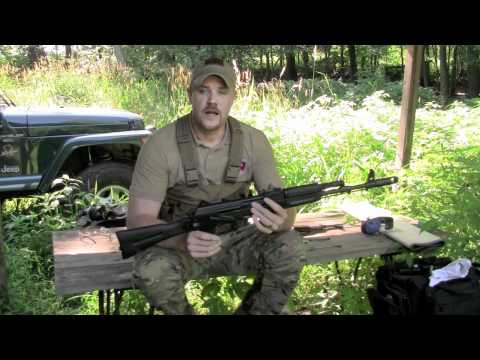 sgl - http://www.atlanticfirearms.com The Arsenal SGL 21 94 is a replica of the Russian AK 103 rifle intended for export. The SGL-21.94 features a side folding sto...