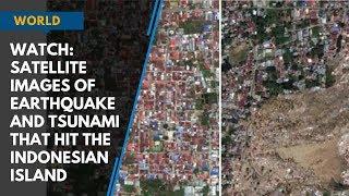 Video Watch: Satellite images of massive earthquake and tsunami that hit the Indonesian Island MP3, 3GP, MP4, WEBM, AVI, FLV Januari 2019