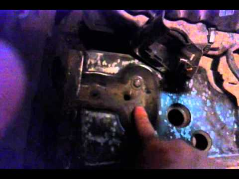 removing the cruise control actuator 01-06 Chrysler Sebring Convertible LXI
