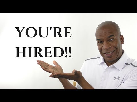 YOU'RE HIRED!!!