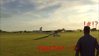 Video Segelflyg - How NOT to land a glider MP3, 3GP, MP4, WEBM, AVI, FLV Agustus 2018