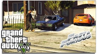 Nonton GTA 5 - Drift Montage | Dodge Charger RT | Fast & Furious Film Subtitle Indonesia Streaming Movie Download