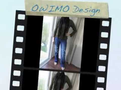 Grunge Jeans selber machen – OWIMO Design Upcycling