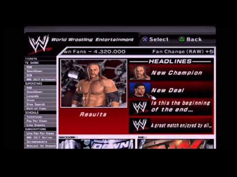WWE GM MODE:  SVR 2007- Episode 6
