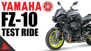 8. 2017 Yamaha FZ-10 Test Ride!