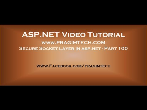 how to provide security in asp net