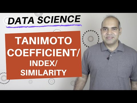 2.6 Data Science: Tanimoto similarity