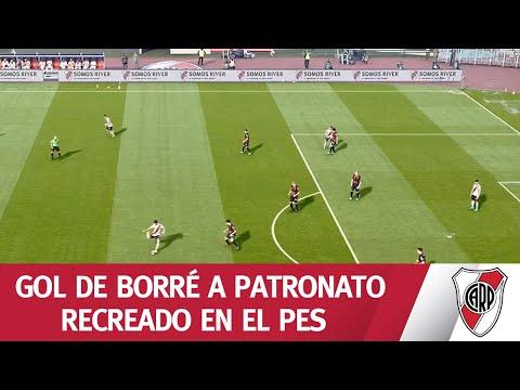 ¡Habilitación, centro y remate! Primer gol de River vs. Patronato recreado en el PES