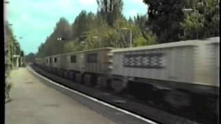 Midgham United Kingdom  city images : BR Class 59 59004 Yeomans Midgham 1986