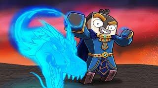 Minecraft Dragons - LEGENDARY WIZARD MASTER!