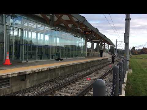 Raw Video: Man stabbed at South Campus LRT station