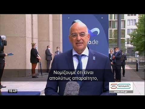 Δένδιας: Βασιζόμαστε πάντα στην ευρωπαϊκή αλληλεγγύη | 28/08/2020 | ΕΡΤ