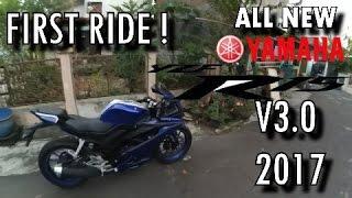 Video #82 - YAMAHA ALL NEW R15 V3.0 2017 First Ride !! | NUNDUK PARAH! | Motovlog Semarang MP3, 3GP, MP4, WEBM, AVI, FLV April 2017