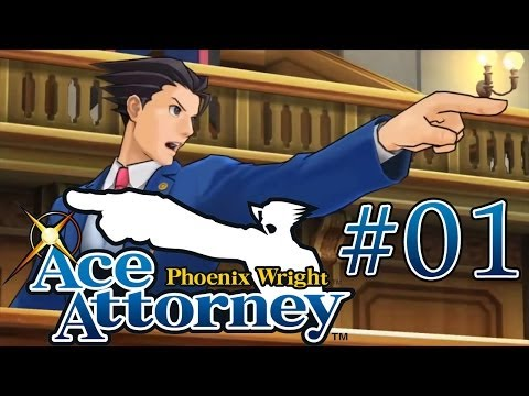 Phoenix Wright: Ace Attorney Blind! – Case 1 [Part 1]