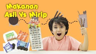 Video KATA BOCAH tentang Makanan Asli vs Mirip | #50 MP3, 3GP, MP4, WEBM, AVI, FLV Desember 2018