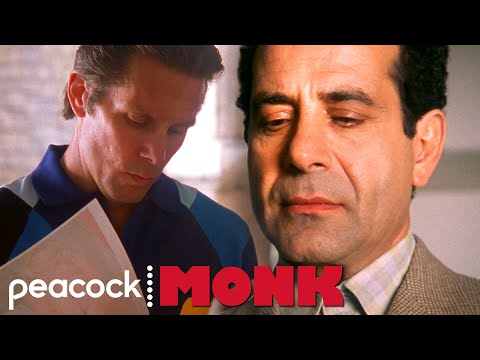 Monk Gets Blackmailed With Sharona's Nudes | Monk