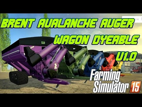 Brent Avalanche Auger Wagon Dyeable v1.0