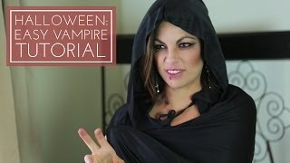 Using makeup, you can easily create some fantastic Halloween ensembles. Follow this tutorial for an easy vampire look! -----------------------------------------------------------CONNECT WITH ME-----------------------------------------------------------facebook: http://www.facebook.com/Always-Blushingblog: http://www.alwaysblushing.com/