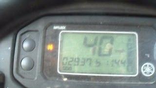 8. Yamaha Rhino 700 Top Speed