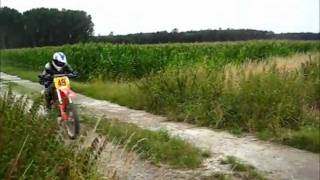 5. Topspeed on Honda CR250R