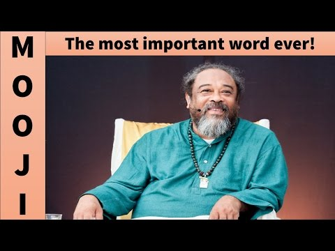 Mooji Video: First We Must Understand the Fundamental Principle