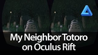 My Neighbour Totoro VR – The Bus Stop Scene