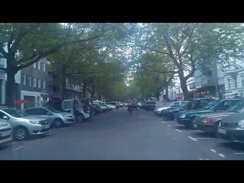 Berlin - Fahrt in der Kollwitzstrasse Teil 2 - Juli 2017