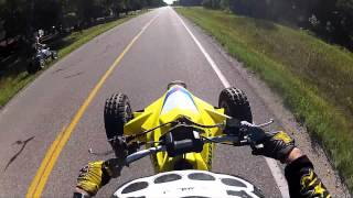 9. LTR 450 Vs.YFZ 450 [GoPro Hero2] 1080p
