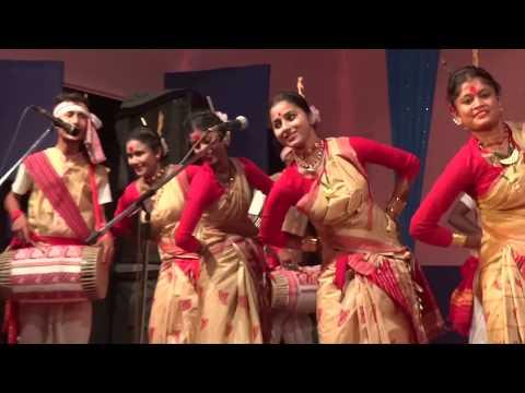 Video New Assamese 2017 Bihu Dance  Live performance  Folk Dance download in MP3, 3GP, MP4, WEBM, AVI, FLV January 2017