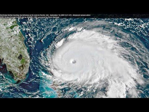Τυφώνας Ντόριαν: Σάρωσε τις Μπαχάμες και κατευθύνεται προς τις ΗΠΑ …