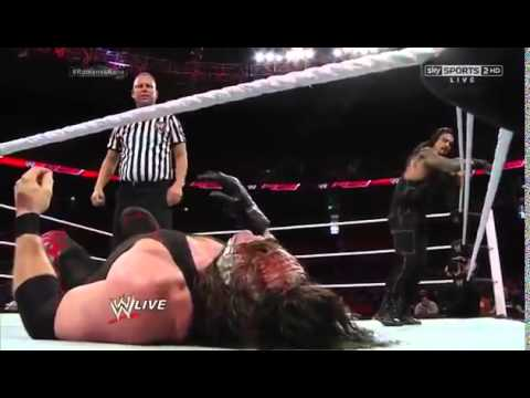 Kane vs Roman Reigns  Last  Man Standing  Match