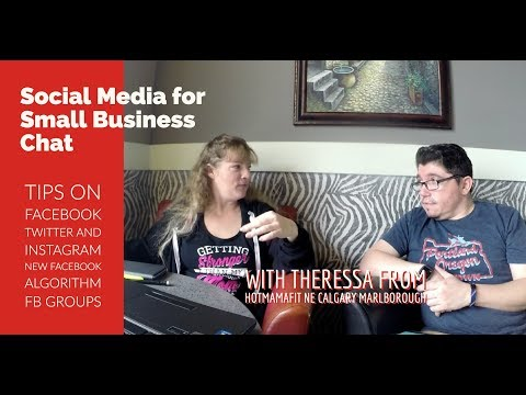 Social Media for Small Business with Theressa from HotMamaFit