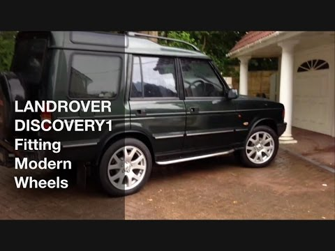 Landrover Discovery1 - Fitting Modern Wheels, using Wheel Adapters
