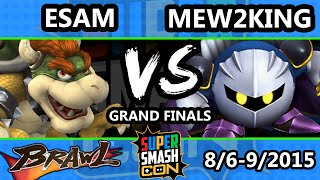 The Funniest Set You'll Ever See. Mew2King (Metaknight) Vs. Esam (Pikachu, Samus…… Bowser)