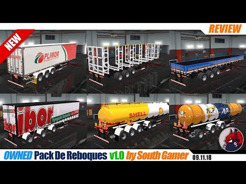 Pack De Reboques v1.0 by South Gamer