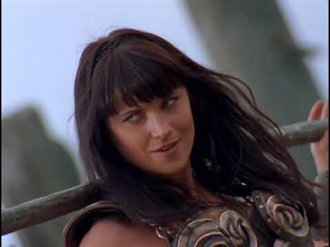 Path of Vengeance. Xena and Varia fight.