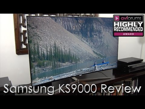 Samsung KS9000 (UE55KS9000) 4K UHD TV Review