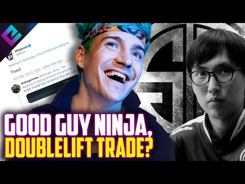 Good Guy Ninja, Doublelift Benched? Fnatic First EVER at Worlds