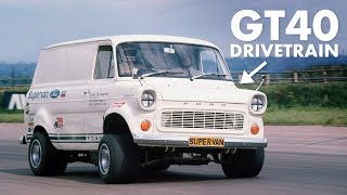 Ford Transit Van With A GT40 Engine: History Of The Supervans   Carfection + by Carfection