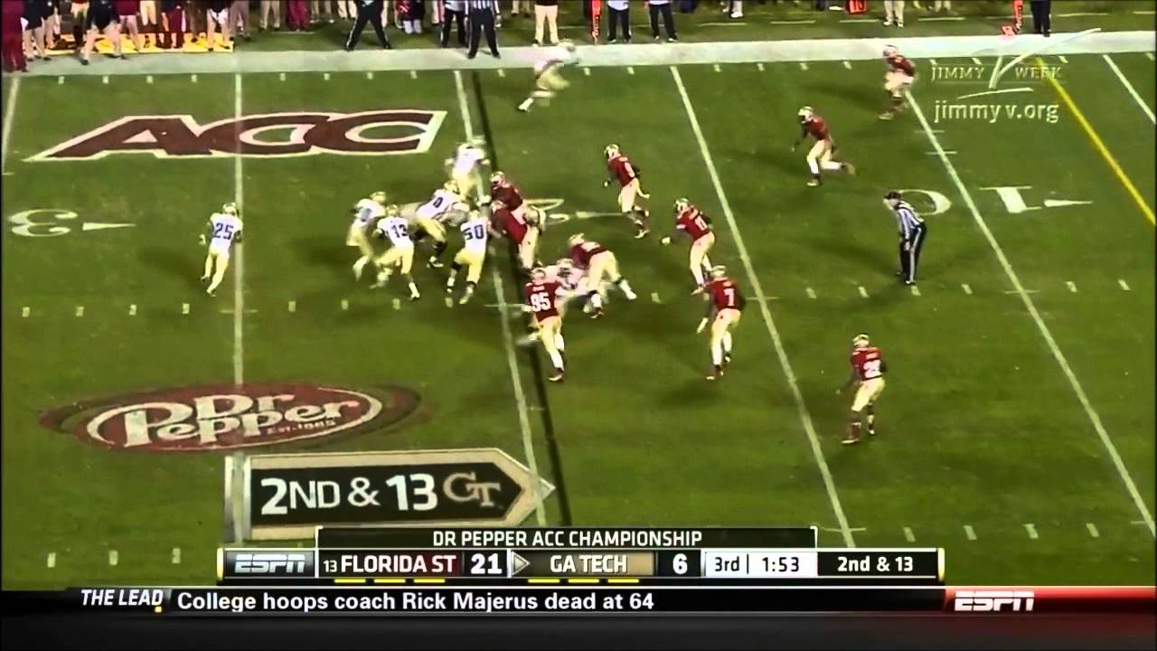 Christian Jones vs Georgia Tech (2012)