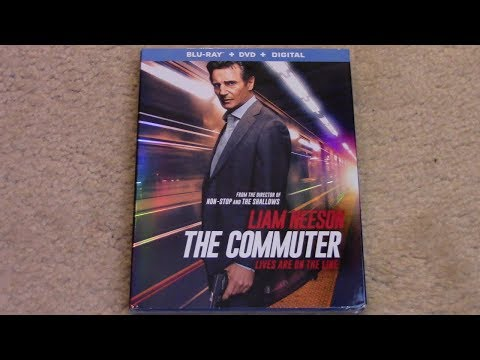 The Communter Blu-ray Unboxing