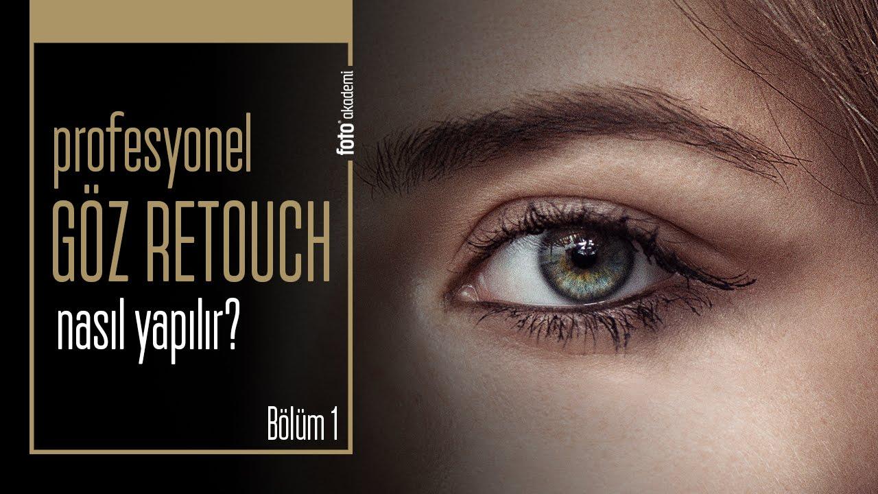 Photoshop'ta Profesyonel Göz Retouch Nasıl Yapılır? (Bölüm 1)