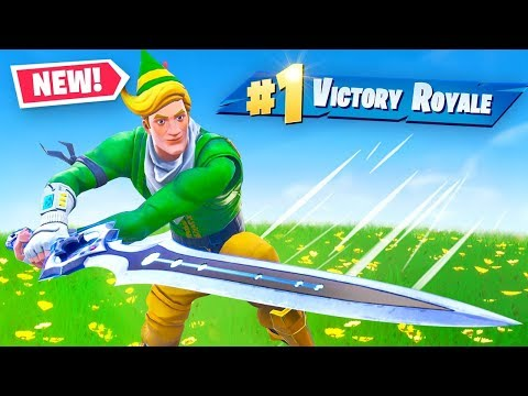 They Added A Sword To Fortnite!?!