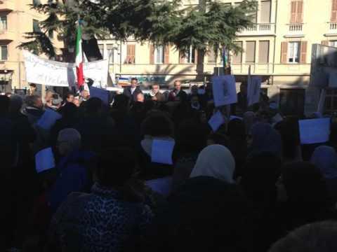 ALBENGA : MANIFESTAZIONE CONTRO IL TERRORISMO