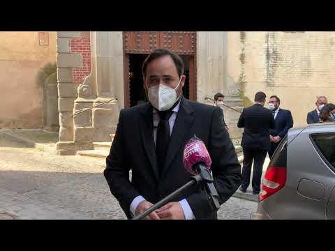El PP-CLM, con Paco Núñez a la cabeza, rinde homenaje a los fallecidos a causa de la pandemia con motivo del Día de la Región