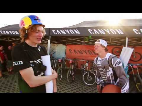 Mountain Bike News - Red Bull Berg Line - Thomas Genon and Anton Thelander