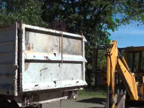 Part 2/2 1978 GMC 6000 Dump Bed Repair